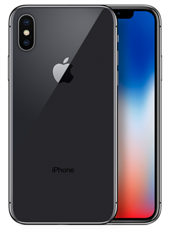 Apple iPhone X 64GB Space Gray - фото 6737