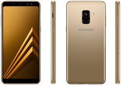 Samsung Galaxy A8 (2018)  Gold - фото 6920