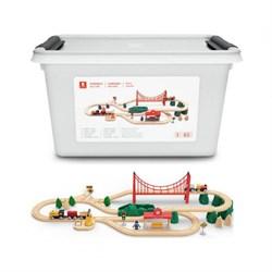 Детская железная дорога Mi Toy Train Set - фото 7499