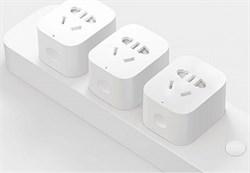 Умная Wi-Fi розетка Xiaomi Mi Smart Power Plug - фото 7773