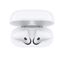 Наушники Apple AirPods 2 (беспроводная зарядка чехла) - фото 9684
