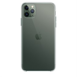 iPhone 11 Pro Max Silicone Case Clear (Прозрачный)