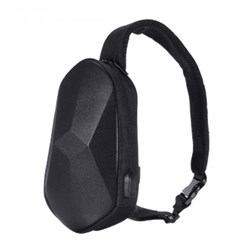 Рюкзак Xiaomi Beaborn Polyhedron Chest Pack PU Black