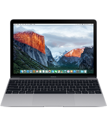 Apple MacBook Early 2016 Space Gray (MLH82)