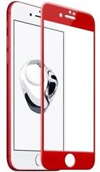 5D ЗАЩИТНОЕ СТЕКЛО ДЛЯ IPHONE 7 (Красное)