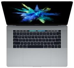 "MacBook Pro 15 Mid 2017 Space Gray MPTR2 (Intel Core i7 2800 MHz/15.4""/2880x1800/16Gb/256Gb SSD/DVD нет/AMD Radeon Pro 555/Wi-Fi/Bluetooth/MacOS X)"