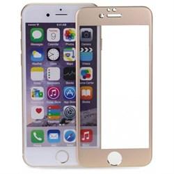 5D ЗАЩИТНОЕ СТЕКЛО ДЛЯ IPHONE 6 Plus/6s Plus (Золотое)