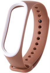 Ремешок для Xiaomi mi Band 3 цветной с окантовкой