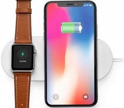 Беспроводное зарядное устройство 2 in 1 Mini AirPower Wireless Charger iPhone for Apple Watch