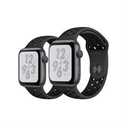 Apple Watch Nike+ Series 4 GPS Space Gray Aluminum Case with Anthracite/Black Nike Sport Band(Cпортивный ремешок Nike цвета «антрацитовый/чёрный»)