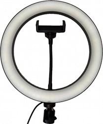 Кольцевая светодиодная лампа с держателем (25.4 см)