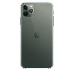 iPhone 11 Pro Max Silicone Case Clear (Прозрачный) - фото 10931