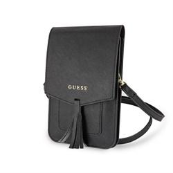 Сумка Guess для смартфонов Wallet Bag Saffiano look Beige - фото 15515