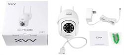 IP-камера Xiaomi Xiaovv Outdoor PTZ Camera 2K (XVV-3630S-P1) Наружная - фото 16703
