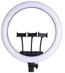 Кольцевая светодиодная лампа с 3-мя держателями (45 см)