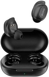 Беспроводные наушники TWS Bluetooth Earbuds QCY-T9 (черный)