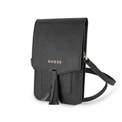 Сумка Guess для смартфонов Wallet Bag Saffiano look Beige
