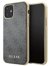 Чехол Guess 4G Collection Hard для iPhone 11, серый