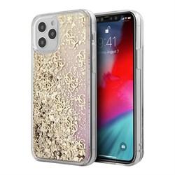 Чехол Guess Liquid Glitter 4G Hard Gradient для iPhone 12 Pro Max