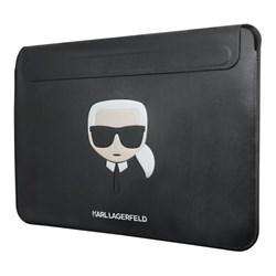Чехол Karl Lagerfeld Ikonik Karl Sleeve для ноутбука 13 дюймов, черный